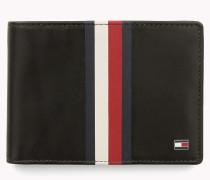 Geldbörse aus Leder mit Streifen