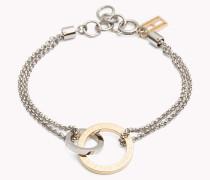 Armband mit verbundenen Ringen