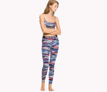 Lounge-Leggings mit Camouflage-Muster