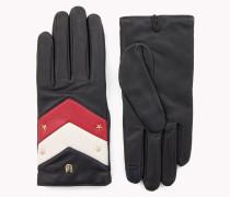 Handschuhe mit Chevron-Muster