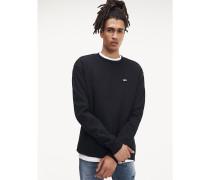 Tommy Classic Sweatshirt aus Bio-Baumwolle
