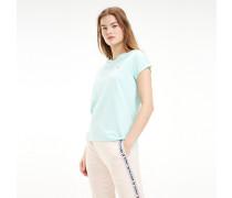 Lounge-T-Shirt in Pastellfarben