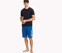 Pyjama-Set in Kontrastfarben aus Baumwolle