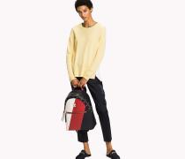 Classic Fit Pullover in Blockfarben