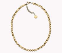 Perlenbesetzte Halskette