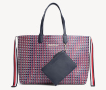 Tommy Icon Tote-Bag mit Monogramm