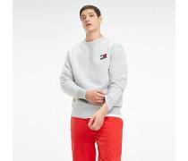 Sweatshirt mit Tommy Jeans-Badge
