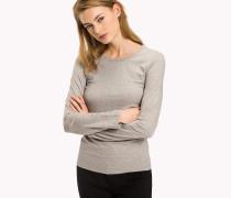 Langarmshirt aus Stretch-Baumwolle