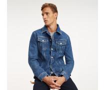 90s Jeans-Truckerjacke