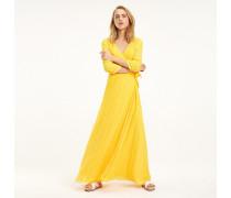 Maxi-Kleid in Wickel-Optik