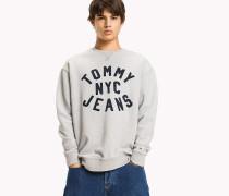 Relaxed Fit Sweatshirt mit Grafik-Print