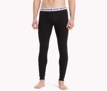 Lange Unterhose mit Logo-Taillenbund