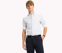 Slim Fit Shirt mit Muster
