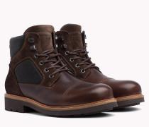 Multi-Textur-Ankle Boot