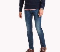 Slim Fit Jeans mit Fade-Effekt