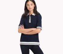 Poloshirt aus Stretch-Jersey