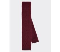 Woll-Krawatte in festem Strick