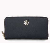 Große Monogramm-Brieftasche