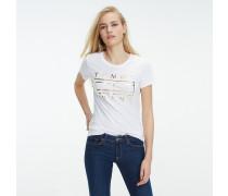 T-Shirt aus reiner Baumwolle mit Logo