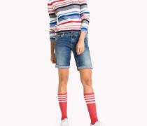 Denim-Shorts mit Fade-Effekt