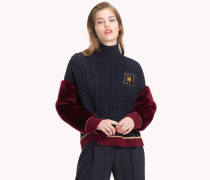 Tommy Icons Pullover im College-Stil