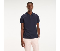 Slim Fit Baumwoll-Poloshirt