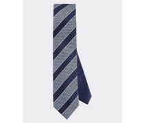 Seiden-Krawatte mit Strukturstreifen