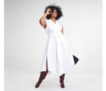 Zendaya Curve ärmelloses Hemdkleid