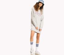 Sweatshirt-Kleid aus Fleece