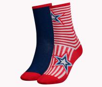 Stars'n'Stripes Socken im Doppelpack