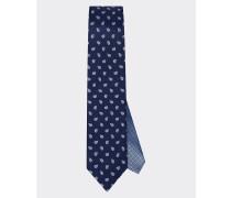 Seiden-Krawatte mit Paisleyprint