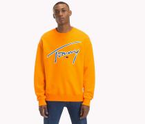 Tommy-Sweatshirt mit Rundhalsausschnitt