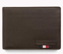 Brieftasche aus strukturiertem Leder