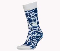Socken mit Logoprint