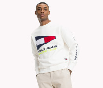 90s Sweatshirt mit Segel-Logo