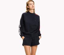 Jersey-Sweatshirt im hochgeschlossenen Design