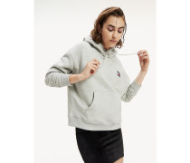 Relaxed Fit Hoodie mit Tommy-Badge
