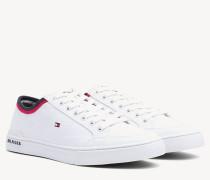 Gestreifter Textil-Sneaker