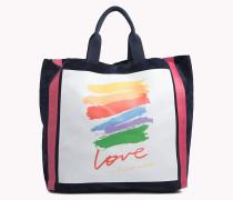 Corita Love Shopper aus Leder