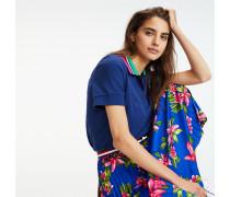 Relaxed Fit Poloshirt aus Bio-Baumwolle