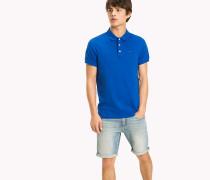 Slim Fit Poloshirt aus Baumwoll-Piqué