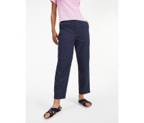Relaxed Fit Chinos aus reiner Baumwolle