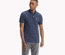Gestreiftes Regular Fit Poloshirt