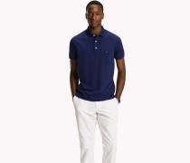 Slim Fit-Polohemd aus Baumwolle