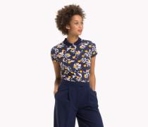 Tailliertes Poloshirt