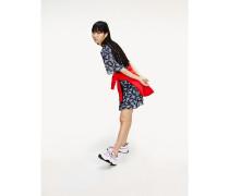 Kurzarm-Kleid mit Paisleyprint
