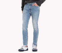 Skinny Fit Jeans mit Stretch