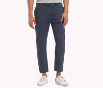 Cropped Fit Baumwoll-Chinos
