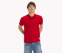 Poloshirt mit Tommy Jeans-Knopfleiste