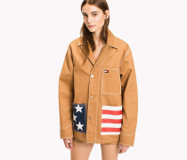 Workwear-Jacke aus Baumwolle